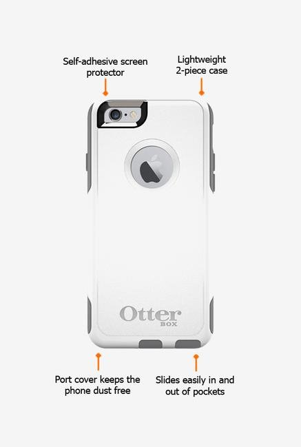 Otterbox Commuter 50218 iPhone 6 Back Case Glacier