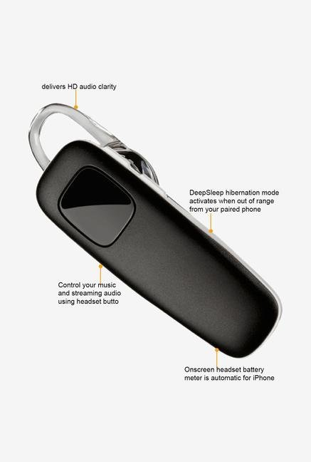 Plantronics M70 Bluetooth Headset Black&White