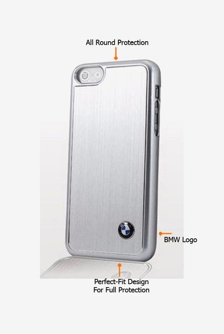 BMW BMHCPMMBS iPhone 5 Case Silver
