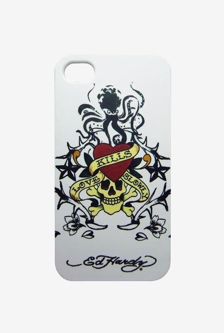 Ed Hardy EH1018 iPhone 4 Case White