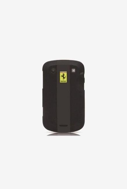 Ferrari FERU99BL Blackberry 9990 Case Black