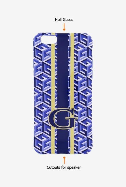 Guess GUHCP6GCUBL iPhone 6s Case Blue