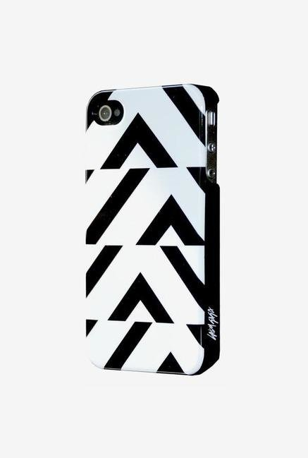 Lady Gaga GA3001 iPhone 4 Case Black & White