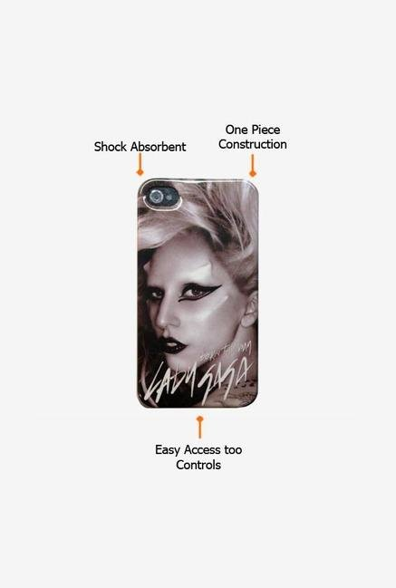 Lady Gaga GA3005 iPhone 4 Case Grey