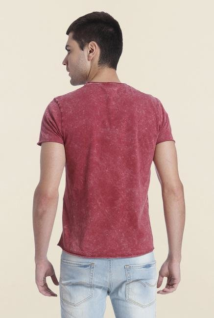 Jack & Jones Syrah Cotton Shaded T Shirt