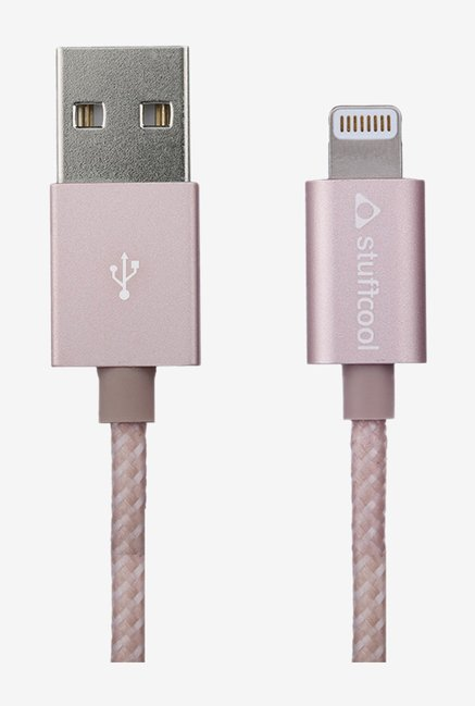 Stuffcool Finesse 1.2M LGFNS Charge Cable Rose Gold