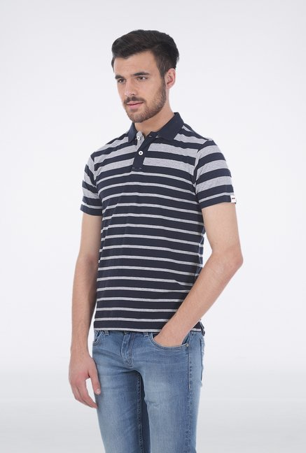 Basics Navy Polo T Shirt