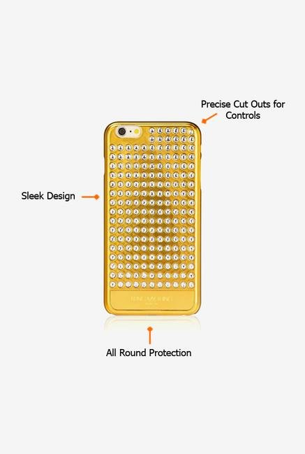 Bling My Thing IP6IEVGIPCRY iPhone 6 Plus Case Metallic Gold