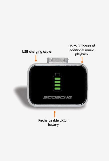 Scosche IBAT2 iPod Charger Black