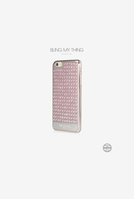 Bling My Thing IP6IEVSVPITR iPhone 6 PL Case Metallic Silver