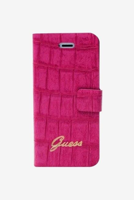 Guess GUFLHP5CMP iPhone 5 Case Pink