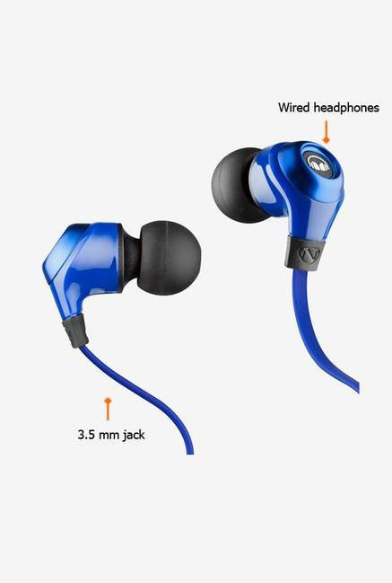 Monster NCMHNRGIEBL In the Ear Headphone Blue