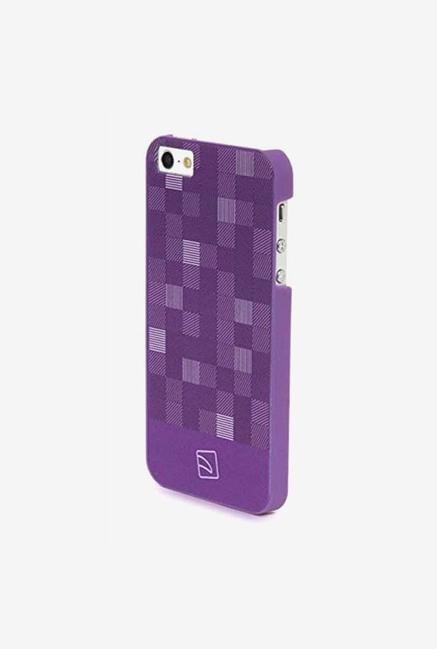 Tucano Quadretti IPH5QUPP iPhone 5 Back Case Purple