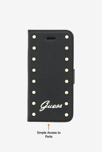 Guess GUFLBKP6sAB iPhone 6 Case Black
