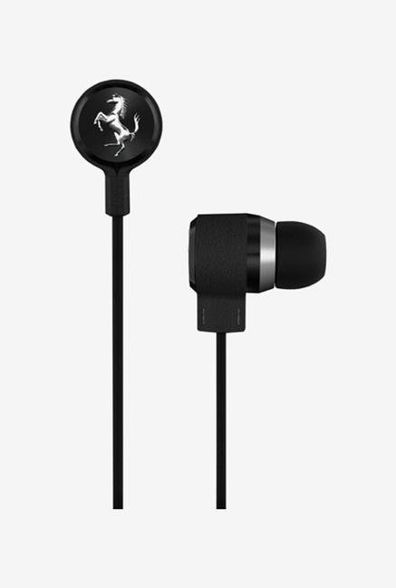 Ferrari T150 In the Ear Headphone Black