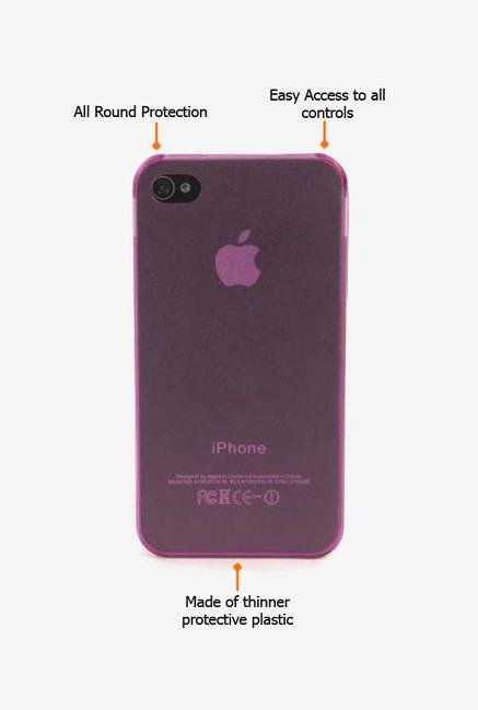 Tucano Sottile IPHSOF iPhone 4 Back Case Pink