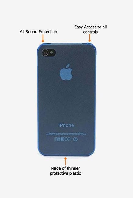 Tucano Sottile IPHSOZ iPhone 4 Back Case Blue