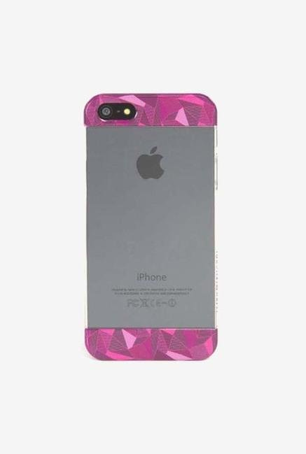 Tucano Bande IPH5BAF iPhone 5 Back Case Pink & Clear