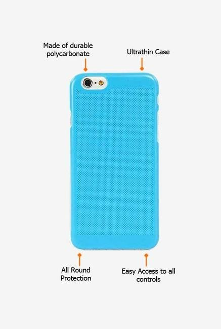Tucano Tela IPH64TZ iPhone 6 Back Case Blue