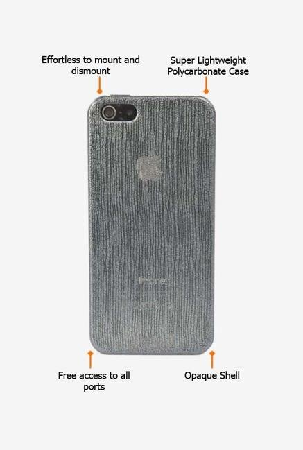 Tucano Chic IPH5CHG iPhone 5 Back Case Grey