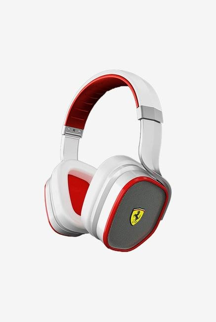 Ferrari R 300 Over The Ear Headphone White