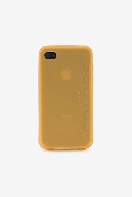 Tucano Colore IPHCSO iPhone 4 Back Case Orange