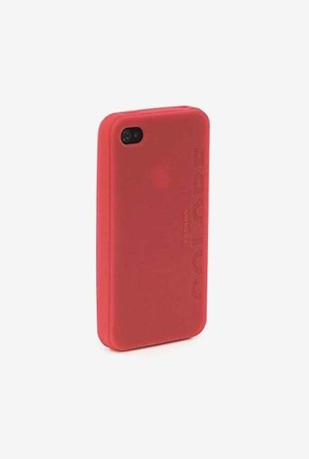 Tucano Colore IPHCSR iPhone 4 Back Case Red