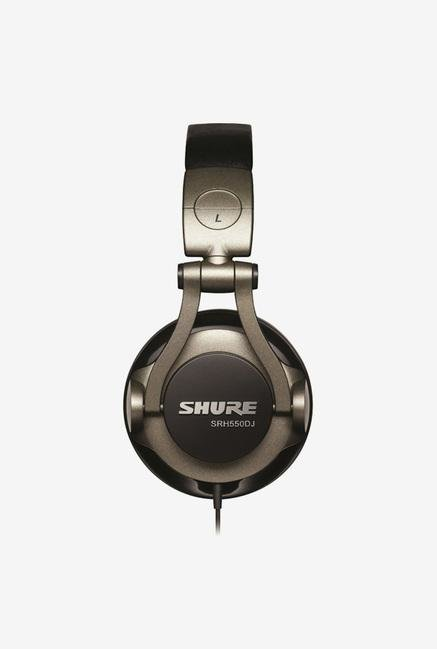 Shure SRH550DJA Over The Ear Headphone Smokey Grey