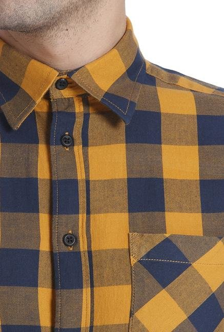 Jack & Jones Inca Gold Checks Shirt