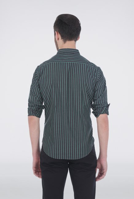 Basics Black Pencil Stripe Shirt