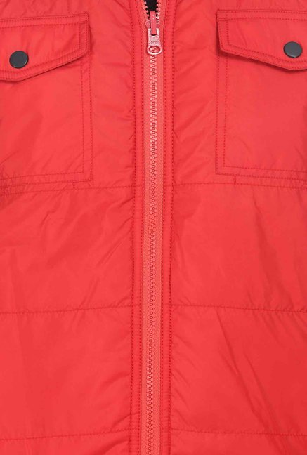 Basics Red Reversible Jacket