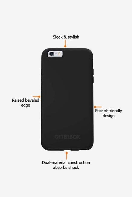 Otterbox Symmetry 52378 iPhone 6+ Back Case Black