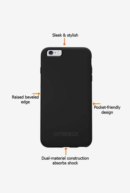Otterbox Symmetry 52290 iPhone 6s Back Case Black