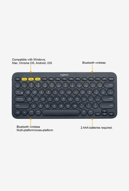 Logitech K380 Wireless Keyboard Black