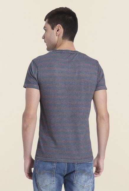 Jack & Jones Syrah Striped T Shirt