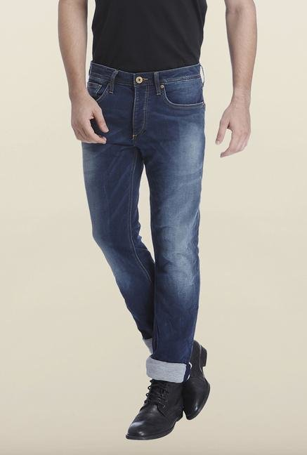 Jack & Jones Blue Denim Clark Jeans