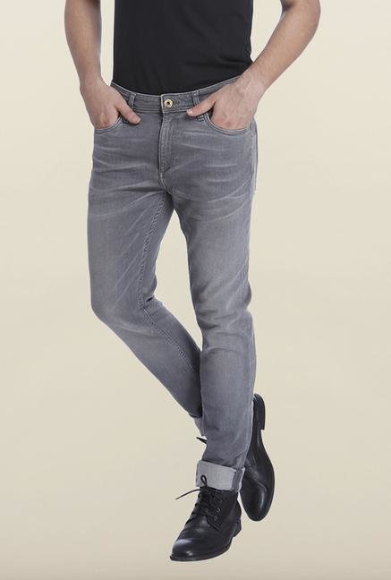 Jack & Jones Grey Raw Denim Ben Jeans