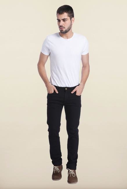 Jack & Jones Black Raw Denim Ben Jeans