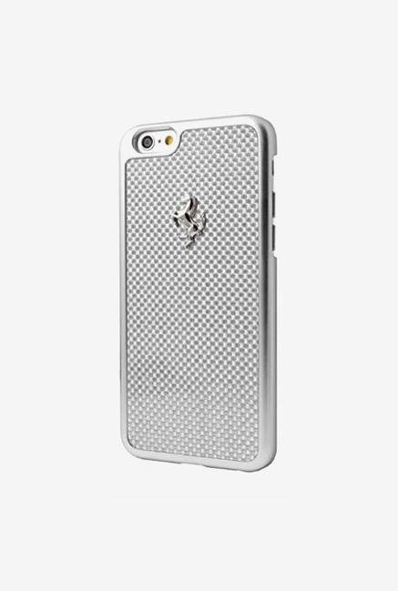 Ferrari FECBSIHCP6LWH iPhone 6 Plus Case Silver