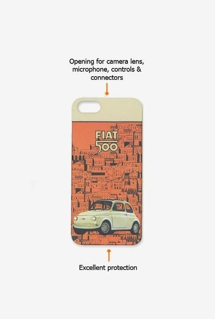 Fiat FTHCP5OR iPhone 5 Case Orange