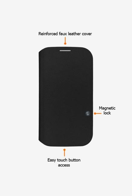 Switcheasy SWFLIPGBK Galaxy S4 Flip Cover Black