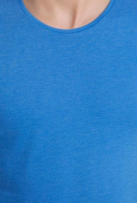 Jack & Jones Royal Blue Crew Neck T Shirt