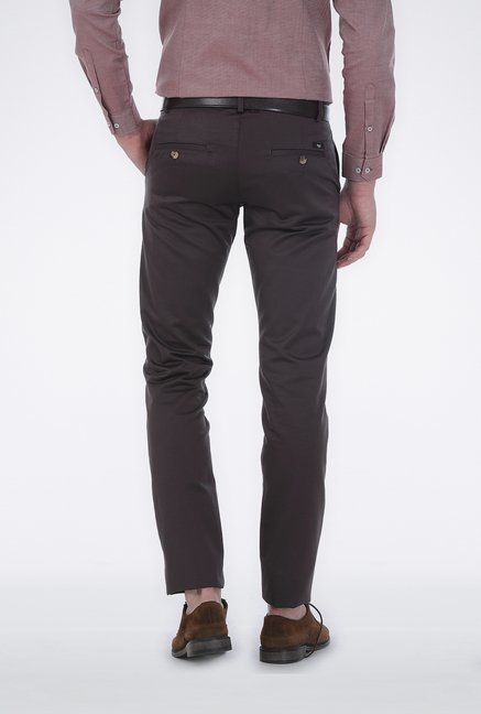 Basics Grey Tapered Trouser