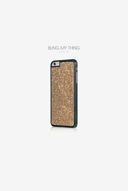 Bling My Thing IP6GMBKGLD iPhone 6 Case Gold