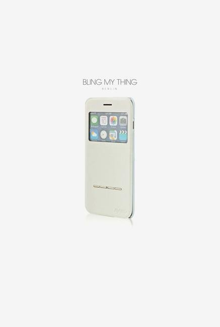 Bling My Thing IP6IPRIWTNON iPhone 6 Plus Case White