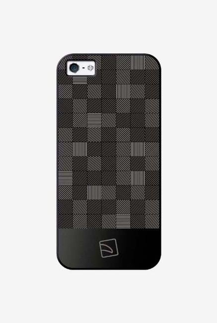 Tucano Quadretti IPH5QU iPhone 5 Back Case Black