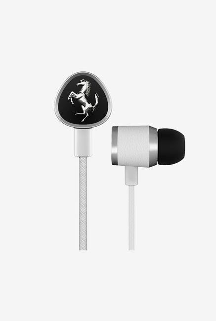 Ferrari G150 In the Ear Headphone White