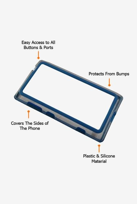 Callmate Bumper Case Blue for Nokia Lumia 520