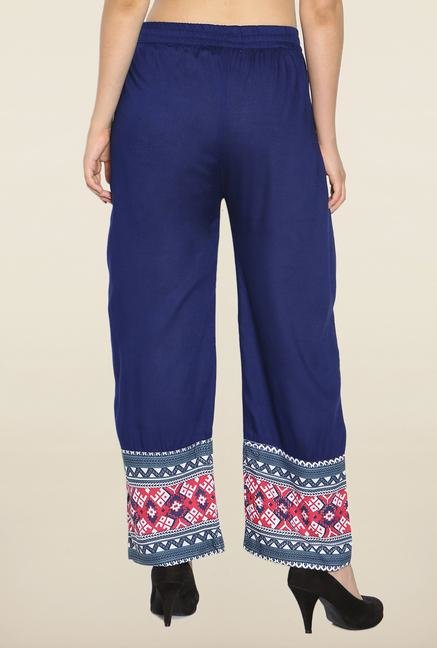 Soch Blue Solid Palazzo