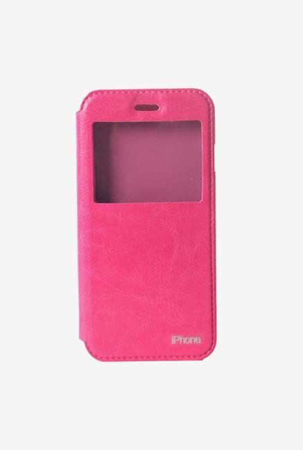 Callmate Window Flip Cover for iPhone 6/6S Pink